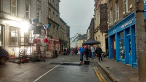 Shooting of Colm Toibins novel Brooklyn in Enniscorthy starring ...