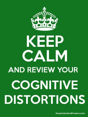 Cognitive distortions are exaggerated or irrational thought patterns ...