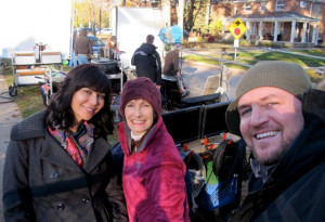 with Exec-Prod Gale Anne Hurd and start Catherine Bell on LAST MAN ...