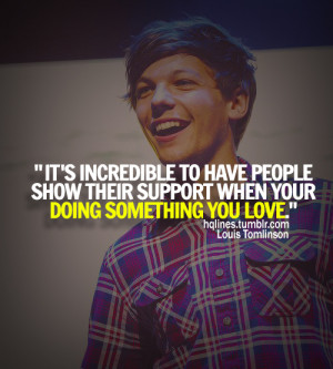 hqlines, louis tomlinson, one direction, quotes, sayings