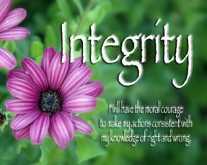 Quotes about integrity 24