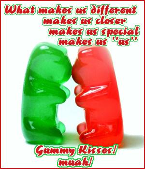 gummy kisses