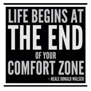 Beyond the Comfort Zone