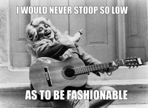 Dolly Parton fashionable meme.