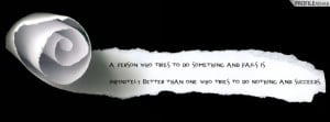 Inspiring Quote Facebook Cover Timeline