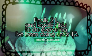 Showing Gallery For Funny 21st Birthday Quotes