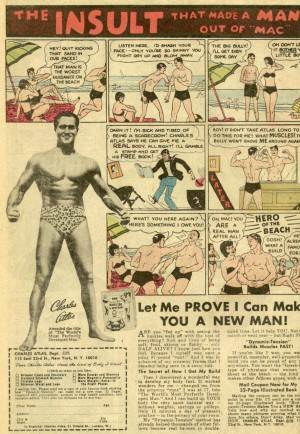 Charles Atlas Marketing Example