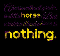 Horse And Rider Quotes And Sayings
