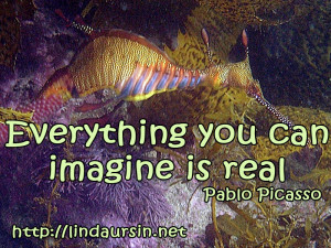 Everything you can imagine - Sassy Sayings - http://lindaursin.net