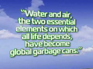 It isn't pollution that's