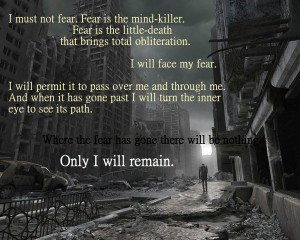 ruins text quotes fearful dune litany against fear 1280x1024 wallpaper ...