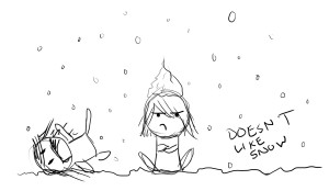 Hate Snow I. hate. snow. by