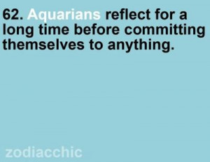 Aquarius Quotes And Sayings