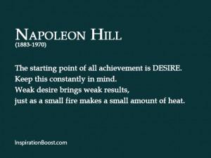 Napoleon Hill Quotes Self Help
