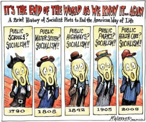 Socialists Plot to End American Way of Life [Pic]