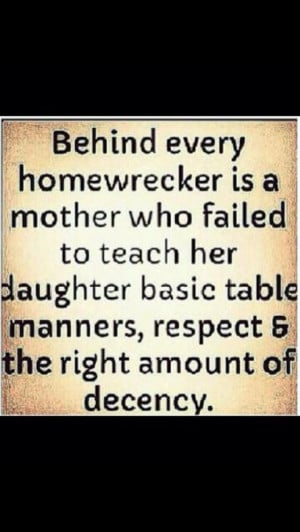 """... woman"""" and her mother, why not blame the unfaithful man in the"""