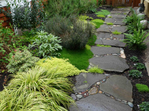 garden stepping stones make the perfect natural walkway Quotes