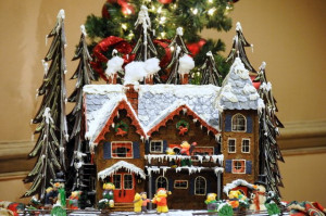 ... cottage mould christmas chocolate house make a christmas chocolate
