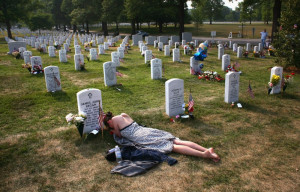 None have moved me more than when I see images of our fallen soldiers ...