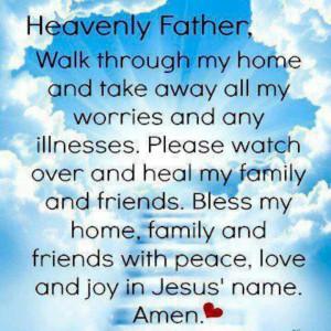 Prayer for morn.