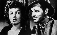 Ann Savage and Tom Neal in Detour (1945 )