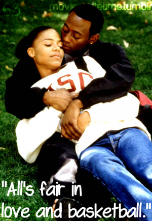 Love And Basketball Movie Quotes Tumblr Basketball love quotes