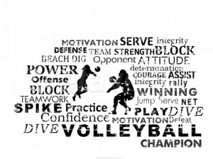 Volleyball Pictures With Quotes: It Is Volleyball Champion Volleyball ...