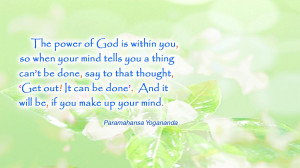 God Quotes Wallpaper Power of god wallpaper