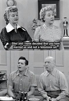 ... with the wives more funny i love lucy quotes classic lucy lucile ball