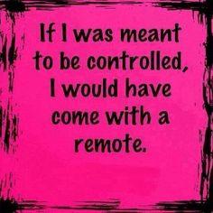 Control quote More