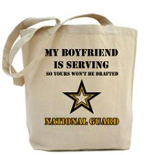 National Guard - My Boyfriend Tote Bag for