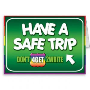 Safe Trip Cards & More