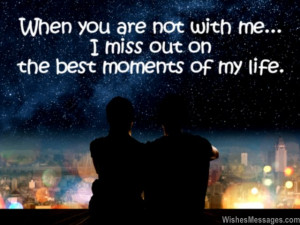Husband Quotes From Wife Romantic Romantic i miss you messages
