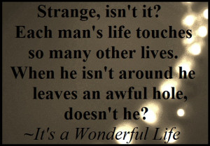 Quote of It's a Wonderful Life | QuoteSaga