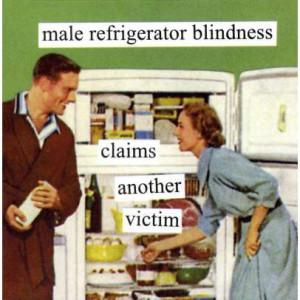 Male Refrigerator Blindness