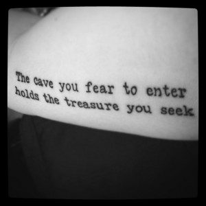 ... Tattoo 3, Campbell Quotes, Red Tattoo, Joseph Campbell, Studios Leed
