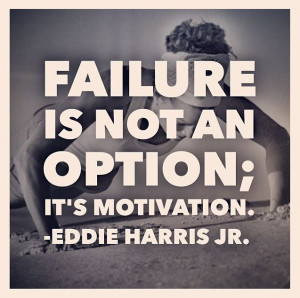 Learn from your failure!