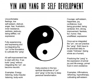Yin & Yang Of Self Development