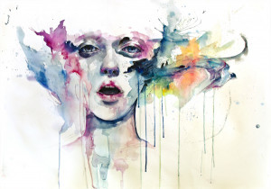 Watercolor Paintings by Agnes Cecile by Christopher Jobson on January ...