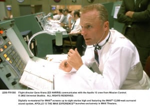 Ed Harris in Universal's Apollo 13 – 1995