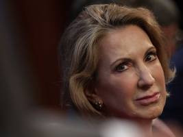 Carly Fiorina, former CEO of Hewlett-Packard, officially entered the ...