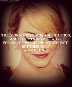 emma stone quotes | Tumblr