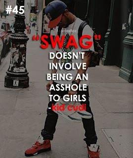 awww, haha, kid cudi, quote, swag, true