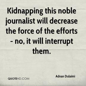 Adnan Dulaimi Kidnapping