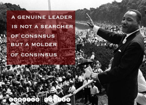 the authority by which the christian leader leads is not power but ...