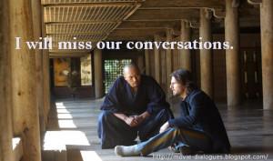 The Last Samurai Movie Quotes