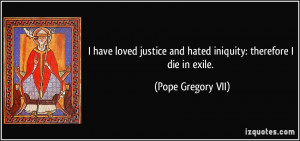 More Pope Gregory VII Quotes