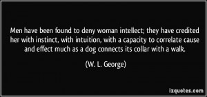 More W. L. George Quotes