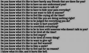 tumblr quotes about being depressed