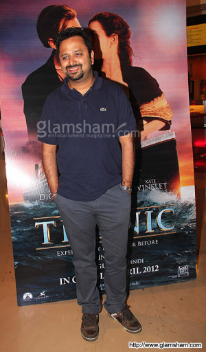 TITANIC 3D promotion in India - photo 6